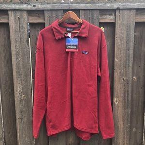 Patagonia Synchilla Red Quarter Zip Pullover